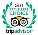 Tripadvisor Travellers Choice award in 2019