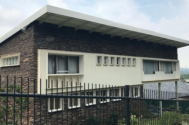 L. Ron Hubbard - Linksfield Ridge House