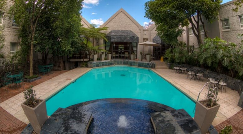 City Lodge Hotel Sandton Katherine Street Pool