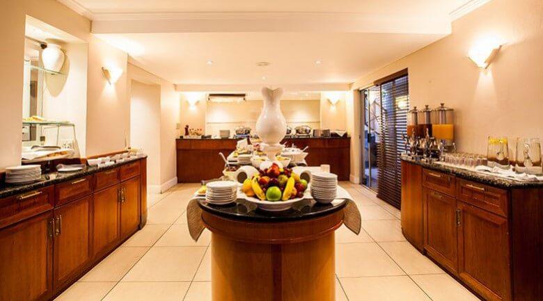Courtyard Hotel Sandton Johannesburg Breakfast