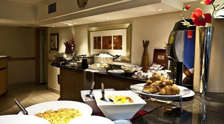 Road Lodge Carnival City Johannesburg Breakfast