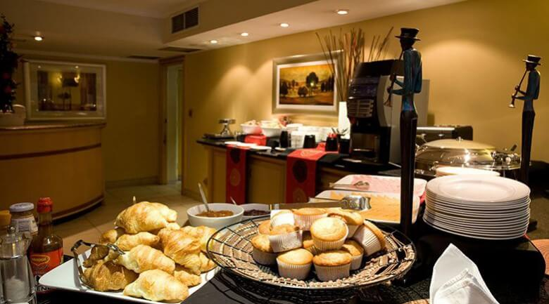 Road Lodge Johannesburg Airport Breakfast buffet