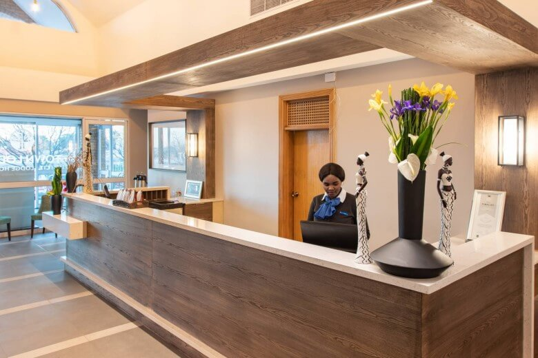 Town Lodge Airport JNB reception