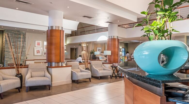 Town Lodge Roodepoort hotel reception check in