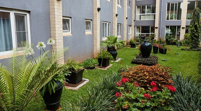 Town Lodge Upper Hill Nairobi Kenya Garden